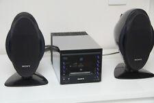 SONY CMT-C5 Bookshelf Mini HiFi CD MiniDisc Combo Stereo System MDLP