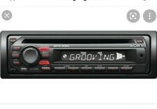 Sony CDX-GT24 with AUX HIGH POWER! CD PLAYER MP3  Stereo Radio