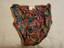 New listing Vintage 1980s Victoria's Secret Gold Label Silk String Bikini Panty Size M