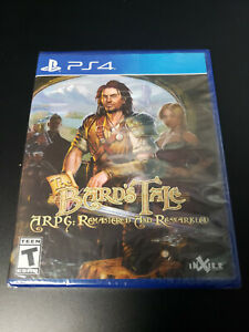 Bard's Tale ARPG: Remastered and Resnarkled LRG Sony Playstation 4 Brand New