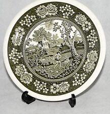 Villeroy und Boch V&B Rusticana grün Kupferdruck Mettlach Kuchenteller 20,5cm Dm