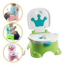 Pot de Toilette fauteuil Chaise musical pour bébé enfant thème Toilet Trainer