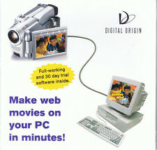 Digital Origin Web Movie Software Trial (PC, 2000, Digital Origin, SEALED NEW)