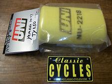 Yamaha TY250 TY 250 Trials  Bike Air Filter & Cage UNI NU-2218 AHRMA 1974 - 78