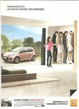 PUBLICITE ADVERTISING 2011 RENAULT Twingo Miss Sixty