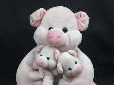 JERRY ELSNER THE REPAY MOM DADDY HOLDING BABIES PLUSH STUFFED ANIMAL TOY LOVEY
