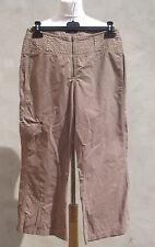 ° IKKS °- Pantalon sable brodrie fleur Taille 42