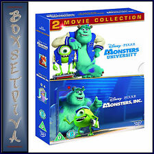 MONSTERS INC & MONSTERS UNIVERSITY - DISNEY PIXAR * NEW  BLU-RAY  - REGION FREE*