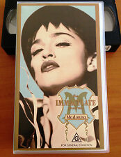 MADONNA - THE IMMACULATE COLLECTION - 1990 VHS