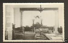 AZAY-le-RIDEAU CHATEAU DU PLESSIS interieur carte-photo