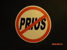 Anti - Prius Sticker / NO PRIUS