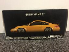 Porsche 911 GT3 RSR ALMS 2004 Yellow 1:18 Minichamps gelb neu new rar