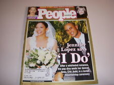 PEOPLE Magazine, October 15, 2001, JENNIFER LOPEZ WEDDING, SHARON STONE!