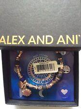 Alex and Ani Riches Wrap Bangle Bracelet Rafaelian Rose Gold NWTBC