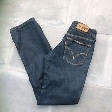 """Jeans Levis 570, coupe droite, indigo denim, 26""""W X 32""""L"""