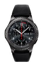 Samsung Gear S3 frontier Smartwatch mit klassischem Armband in schwarz (Ohne Simlock)