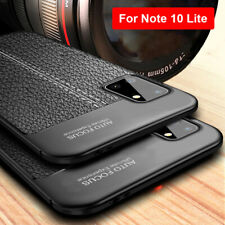 For Samsung Galaxy Note 20 / 10 Lite Slim Silicone Soft TPU Leather Case Cover