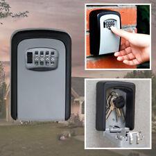 4 Digit Combination Password Key Box Wall Mount Safety Lock Organizer Case Tool