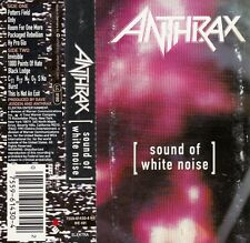 "K 7 AUDIO (TAPE)  ANTHRAX ""SOUND OF WHITE NOISE"""
