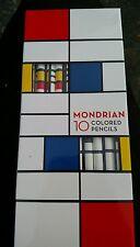 Mondrian 10 colored pencils Piet Mondrian NEW IN PACKAGE