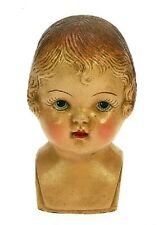 Büste PUPPENKOPF ✿ Baby ✿ Puppe Victorian DOLL Buste HEAD VTG Tête de Poupée