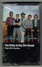 NITTY GRITTY DIRT BAND Plain Dirt Fashion 1984 Cassette W4-25113 Sealed!