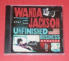 Wanda Jackson - Unfinished business -- CD  / Pop