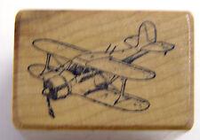 ImaginAir Designs Beechcraft D17 Staggerwing Aviation Rubber Stamp