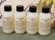 Set Of 4 Philosophy Unconditional Love Perfumed Olive Oil Body Scrubs 2 Oz Each