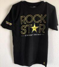 Original Rock Star Energy Drink Men's Hip Hop Skate Punk BMX EUC Rare T-shirt M