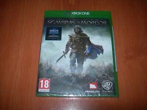 SOMBRAS DE MORDOR XBOX ONE (EDICIÓN ESPAÑOLA PRECINTADO)