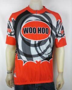 Atac Sportswear MensWoohoo Orange/Black Cycling Vest Size XL Made in Canada