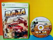 Baja Edge of Control Racing - Microsoft Xbox 360 Rare Race Game 1-4 Players