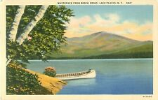 Whiteface From Birch Point Lake Placid New York Postcard 13-Lp 6A-H2357
