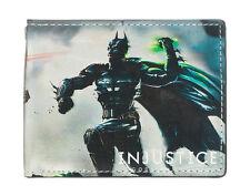 AWESOME DC COMICS INJUSTICE BATMAN VS SUPERMAN BI-FOLD WALLET *BRAND NEW*