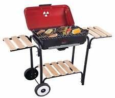 Barbecue Elettrico 2300W Con Carrello e Stand Con Comodi Ripiani Poggia Mestoli