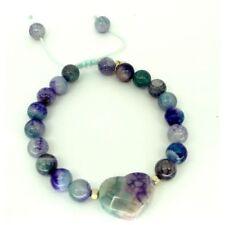 Bracelets fantaisie violets perle