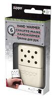 ZIPPO Handwärmer 6 Stunden kleiner Taschenofen NEU+OVP weiss Taschenwärmer