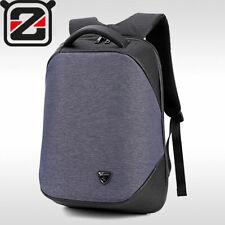 """Zaino Scuola Uomo USB 15.6"""" da Viaggio Impermeabile Laptop PC Notebook Dark Blue"""