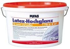(11,20 EUR/l) PUFAS Latex-Hochglanz 5l
