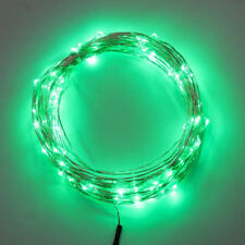 Stringa Led USB Verde Filo Rame Copper Wire String 10 Metri 100 Led IP67 Per Ga