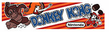 Donkey Kong arcade marquee
