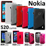 Housse Coque Etui S Line Silicone Gel Film Serie Nokia Lumia 520 625 800 920 925