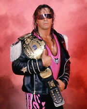Bret The Hitman Hart Wwf Wcw 8x10 Picture Celebrity Print