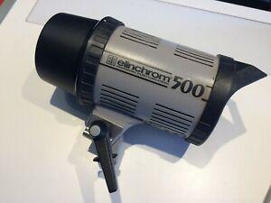 Blitzlampe Elinchrom 500