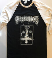 DISSECTION 3/4 Sleeve Length Baseball T shirt MAYHEM Watain DARKTHRONE Beherit