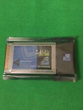 New WPC54G Linksys Cisco Wireless-G Notebook Laptop PC Card 2.4 GHz WiFi Adapter