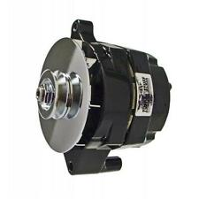 Tuff Stuff 7068RF Ford 1 Wire Smooth Black Ford Alternator, 100 AMP