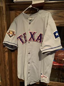 ALEX RODRIGUEZ SIGNED TEXAS RANGERS AUTHENTIC RAWLINGS JERSEY UPPER DECK COA