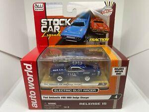 Auto World - Paul Goldsmith #99 1969 Dodge Charger - HO Slot Car